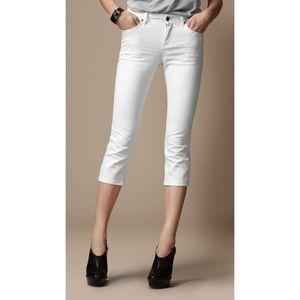 Burberry Buckingham 3/4 Skinny Jeans